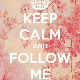 KeepCalm FollowMe