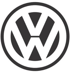 VW Volkswagen Car Logo Emblem Keychain Chrome SPLIT OVAL BUG BUS GHIA