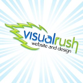 VisualRush website & design