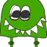 Big Green Head
