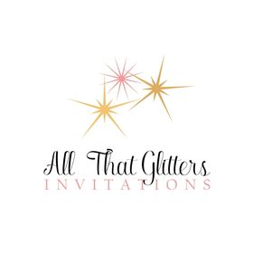 All That Glitters Invitations, Custom Wedding Invitations