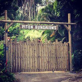 Piton Bungalows - Deshaies Ecolodge Guadeloupe