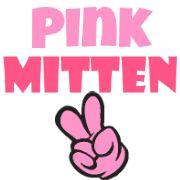 Pink Mitten - Geek Chic FTW!