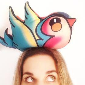 ClaudiaGalián con los pájaros volados