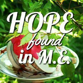 Hope found in M.E.
