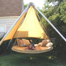 Floating Hanging DayBed for dreaming