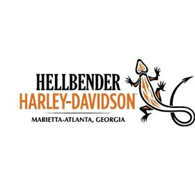 Hellbender Atlanta Georgia Motorcycles Business Card Harley Davidson