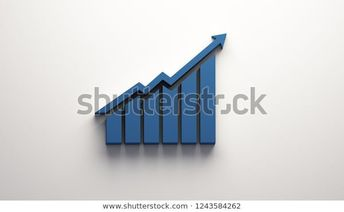 Finance Growth Bar Arrow 3d Render Stock Illustration 1243584262  #finance #bar #financial #chart #graph #stock #wallstreet #share #grow #growing #logo #usa #europe #america #interest #rates #federal #up #low #economy