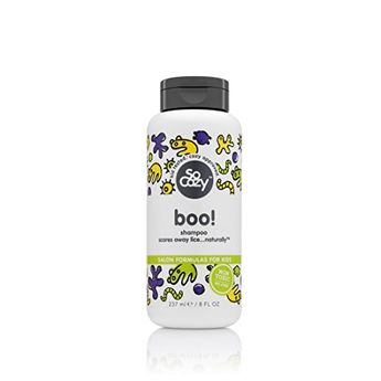 SoCozy Boo Lice Scaring Shampoo Scares Away Lice Naturally 8 Fluid Ounce * Click image to review more details.