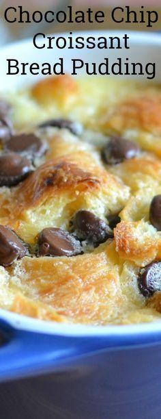 Individual Chocolate Chip Croissant Bread Pudding Recipe plus 6 Other Amazing Dessert Recipes