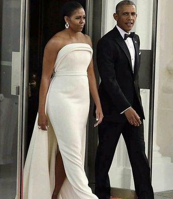 "Asoebi Classic on Instagram: ""Power couple..... @michelleobama @barackobama  Cuteness, elegance, style n class..all in one picture #africaninspiredfashion…"""