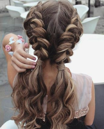 30 Gorgeous and Trendy Twisted Rope Braid Blonde Hairstyle for Long Hair