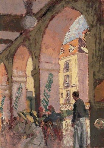 The Café Suisse, Walter Richard Sickert (1860-1942)