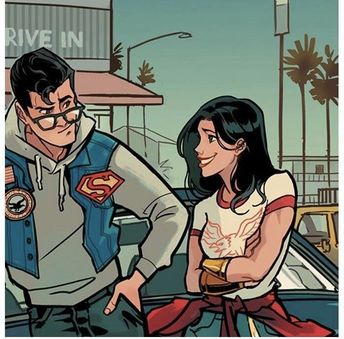 Hell Yeah Superman-n-Wonder Woman • Clark and Diana by Picolo...