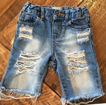 4e04e0f71 Baby boy/toddler boy hand distressed denim/no patches/phot
