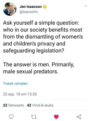 """And no, it doesn't benefit 'trans people' unless as usual people means men. Dismantling women's and girls rights also leads to a decline for those girls and women (primarily lesbians) right now coerced into trying to opt out of women's sex role by pretending to be the other sex."""