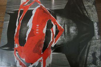 Batman v Superman Henry Cavill Ben Affleck Israel Movie Promo Magazine Poster A3
