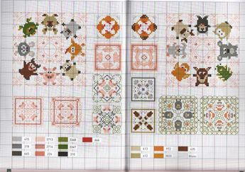 Cross-stitch Biscornu patterns...     Gallery.ru / Фото #1 - бискорню - siuvinetoja