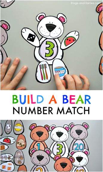 Build a Bear Number Match