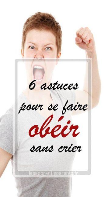 6 astuces pour se faire obéir sans crier
