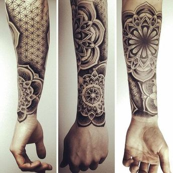 Mandala Tattoos for Men