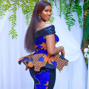 Stephanie Okereke Linus Look Stunning In Her Lovely Ankara Attire