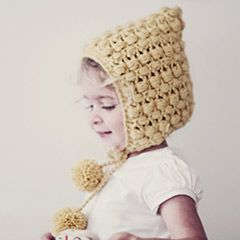Pompoms and puffs crochet pattern