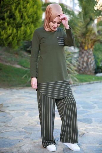 0a698816e3cc4 tesettür giyim tunik modelleri #moda #fashion #diy #tesettü