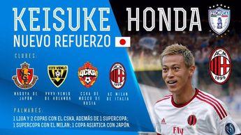 ¿¡QUÉ?!? Pachuca confirmó el fichaje de Keisuke Honda