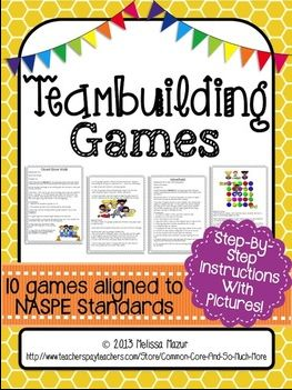 Team building activities for middle to high school students