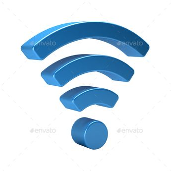 Wifi Wireless  - Objects 3D Renders