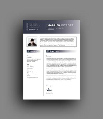 Artemis Elegant Professional Resume Template - Graphic Templates