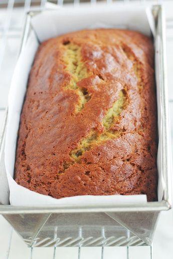 Cake à la banane moelleux (banana bread américain)