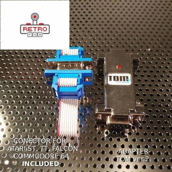 *JERRY+* USB Mouse /& Joystick Adapter for AMIGA TT FALCON ATARI ST