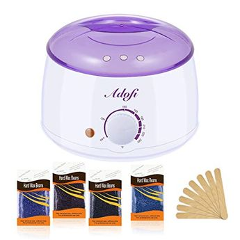 HOPOSO Wax Warmer Hair Removal Waxing Kit Temperature