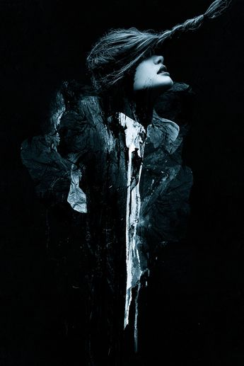 Sins Of Jezebel By TOMAAS by TOMAAS #photography #photo #manipulation #black #dark #blue