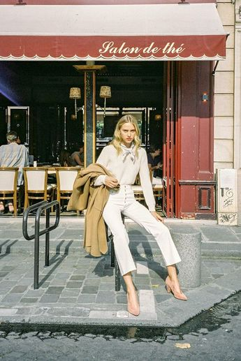 The Parisian Way to Wear All-White in Winter (Le Fashion)