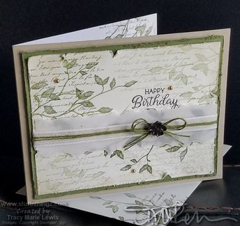 Very Versailles Simple Stamping Project #2 Version #2