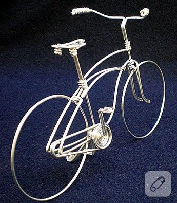 .Mahmut abinin bisikletlerinden yapmışlar. İşte burada