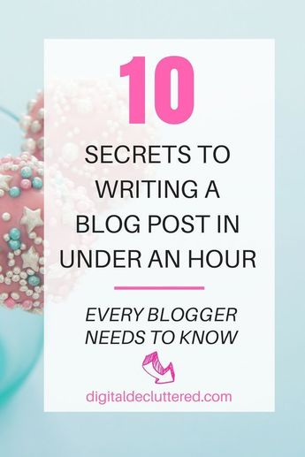 How to write a blog post - every step from brilliant idea to hitting publish