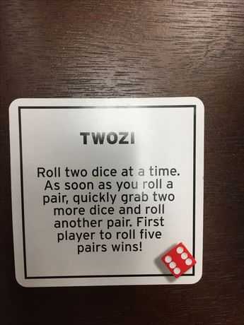 photo regarding 77 Ways to Play Tenzi Printable identify TENZI Card Deck