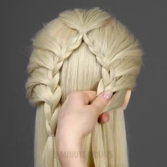 By @5.min.crafts Easy hairstyles to get you out of your hair routine. #5minutecrafts #video #hair #hairstyle Follow us on Twitter!… - #5mincrafts #5minutecrafts #Easy #Follow #hair #hairstyle #hairstyles #Routine #Twitter #Video