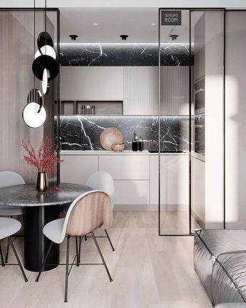 ✔76 inspiring modern contemporary kitchen design ideas 36