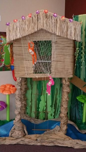 Journey off the map VBS treehouse