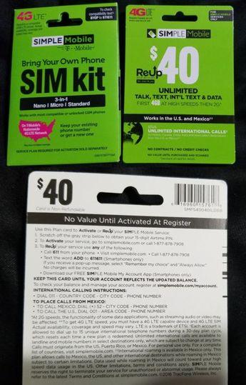 Free Simple Mobile Reup