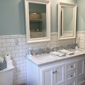 Abbey Double Bathroom Vanity Set & Reviews   Joss & Main