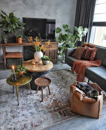 7 Warm and Comfortable Living Room Designs