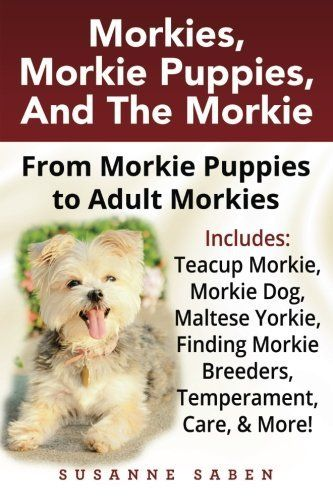 Morkies, Morkie Puppies, And The Morkie: From Morkie Puppies to Adult Morkies Includes: Teacup Morkie, Morkie Dog, Maltese Yorkie, Finding Morkie Breeders, Temperament, Care, & More!: Susanne Saben: 9781911355045: Amazon.com: Books