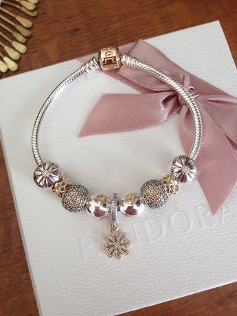 Pandora two-tone bracelet More