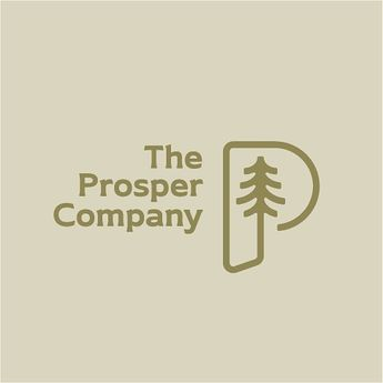Lotsa trees in the PNW and the Prosper Company is going to help keep it that way 🌲. - #design #logo #graphicdesign #branding #wildeandco #typography #seattle #pnw #type #exploremore #getoutside #slowroastedco #creativitymix #brandcurated @design_brew @logoinspirations @logos.ai